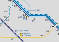首都圏電鉄水仁線の水原〜漢大前間が新規開業、盆唐線との直通運転を開始