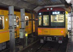 東京メトロ銀座線1000系車両