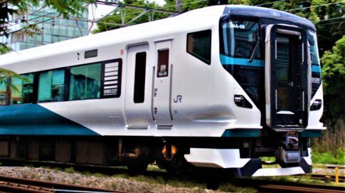 特急「踊り子」「湘南」に起用されるE257系リニューアル車