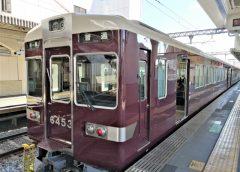 阪急嵐山線で運行されている6300系電車