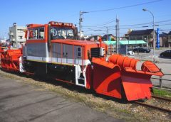 あいの風とやま鉄道の除雪車(イメージ)