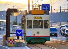 富山地方鉄道市内電車は除雪作業のため一部区間で運転見合わせ(イメージ)
