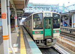 JR東日本719系を使用した奥羽本線(山形線)普通列車はすべて赤岩駅を通過