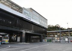 京急線と直結したシーサイドライン金沢八景駅