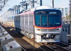 2020年春から営業運転を開始したつくばエクスプレスTX-3000系電車