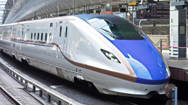 上越新幹線に追加投入されるE7系新幹線車両の12号車は最上位車両「グランクラス」