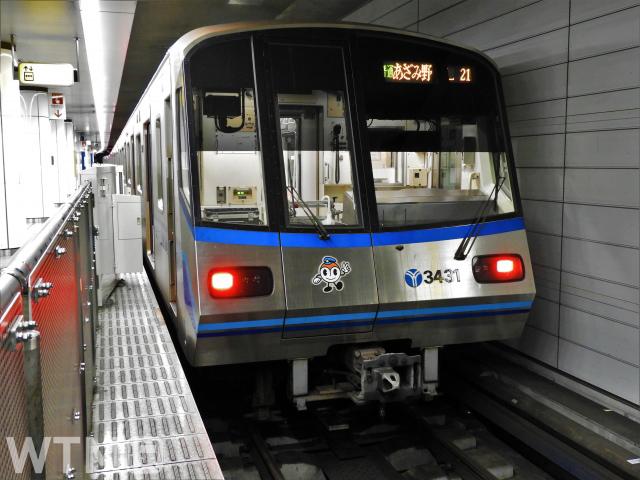 横浜市営地下鉄3000R形電車(ジュンP/写真AC)