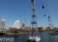 みなとみらいの新たなシンボルとなる都市型ロープウェイ「YOKOHAMA AIR CABIN」(いちななさん/斜視)