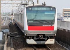 京葉線を運行するJR東日本E233系5000番台電車(Tsushimahikari/写真AC)