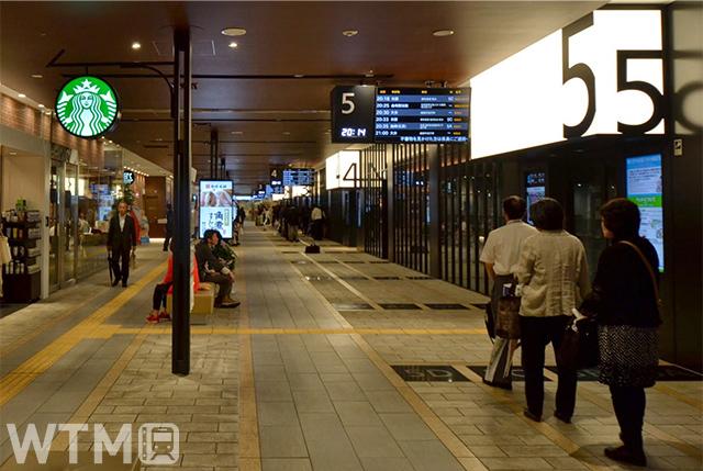 西鉄天神高速バスターミナル(Katsumi/TOKYO STUDIO)