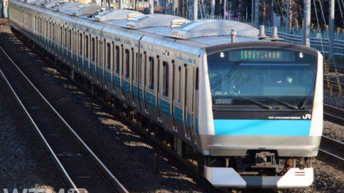 京浜東北線・根岸線で運行しているJR東日本E233系1000番台電車(kiss x7/写真AC)