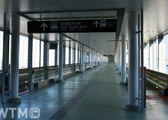 中部国際空港ターミナルビルと高速船乗り場をつなぐ歩道橋(Katsumi/TOKYO STUDIO)