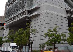 自衛隊による大阪大規模接種センターとなる大阪府立国際会議場(グランキューブ大阪)(Katsumi/TOKYO STUDIO)