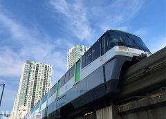東京モノレール1000形電車(せきせい/写真AC)