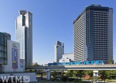 ニュートラム南港ポートタウン線トレードセンター前駅〜中ふ頭駅間を走行するOsaka Metro 200系電車(TokyoSky/写真AC)