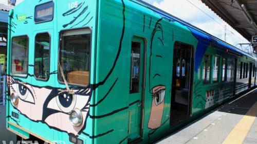 伊賀上野駅に停車中の伊賀鉄道200系電車(rupann7777777/写真AC)