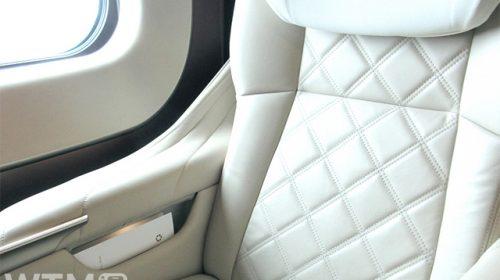 北陸新幹線E7系のグランクラス座席(Arttecture/写真AC)