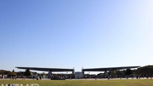 国営ひたち海浜公園西口「翼のゲート」(あじあっし/写真AC)