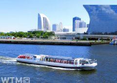 臨港パーク北側を航行する「シーバス」(いちななさん/写真AC)