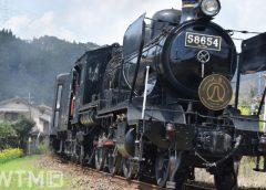 JR九州「SL人吉」をけん引する蒸気機関車8620形58654号機(ウッドベル/写真AC)