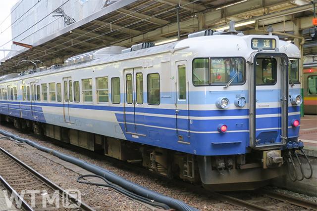 越後線などで運行しているJR東日本115系電車(忍者くん/写真AC)