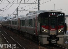 JR西日本227系電車(KUZUHA/写真AC)