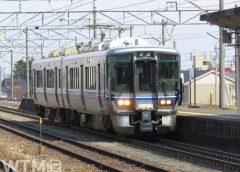 七尾線などで運行しているJR西日本521系電車(leap111/写真AC)