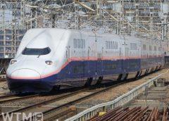 上越新幹線で運行して売るオール2階建て新幹線E4系Max編成(HK-SAN/写真AC)