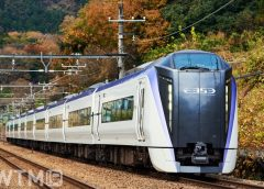 特急「あずさ」「かいじ」などで運行しているJR東日本E353系電車(ちゃんこちゃんこ/写真AC)