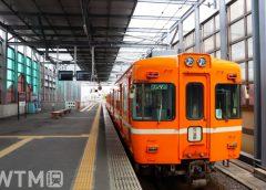 電鉄出雲市駅に停車中の一畑電車2100系電車(natuto10(なつと)/写真AC)
