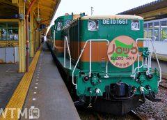 「くしろ湿原ノロッコ号」「夕陽ノロッコ号」で運行しているDE10形ディーゼル機関車と客車(watanos/写真AC)