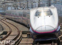 東北新幹線・上越新幹線で運行しているE2系(kiss x7/写真AC)