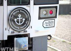 観光列車「La Malle de Bois」で運行しているJR西日本213系電車(由華。/写真AC)