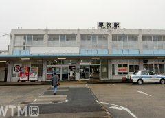 厚狭駅在来線口駅舎(Inushita/写真AC)