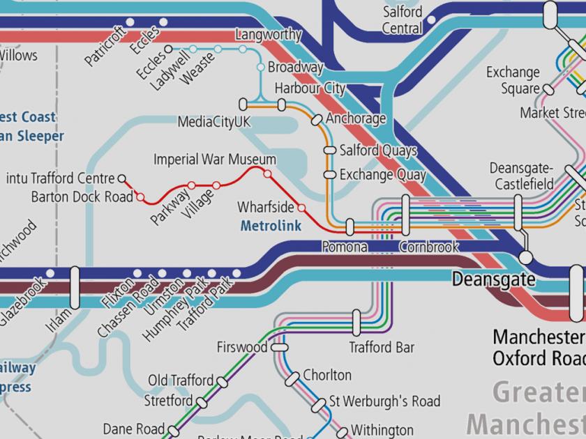 マンチェスター・メトロリンクのトラフォード・パーク線が新規開業
