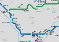 JR中央本線の駅ナンバリングが初狩駅〜小淵沢駅間に拡大