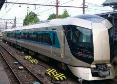 東武の夜行列車「スノーパル23:55」で使用される特急「リバティ」500系車両