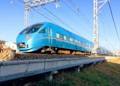 「メトロニューイヤー号」に使用される小田急ロマンスカーMSE60000形
