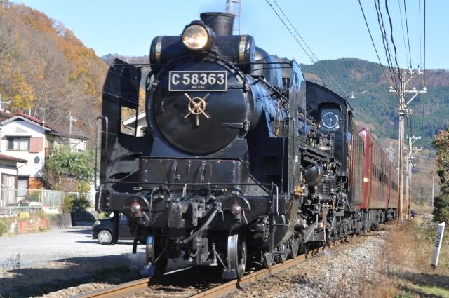 蒸気機関車C58形による秩父鉄道「SLパレオエクスプレス」