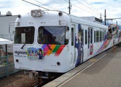 アルピコ交通上高地線の3000形電車「なぎさTRAIN」
